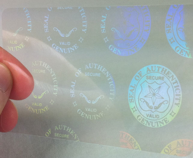 Authentic w/Seals and Keys Hologram Overlays (with UV Eagle) - 5 Pack