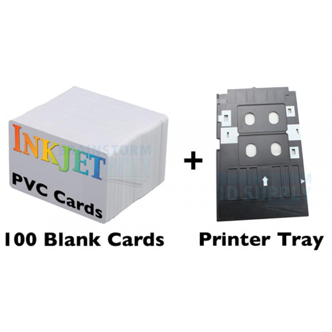 Inkjet PVC Card Assistant - Brainstorm ID