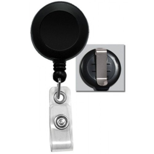 Badge Reel with Strap & Belt Clip