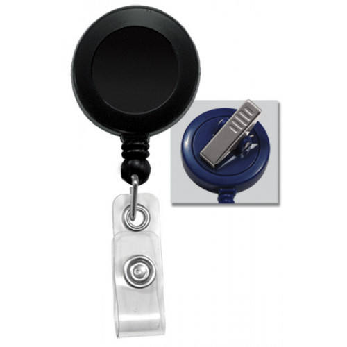 Badge Reel with Strap & Swivel Spring Clip