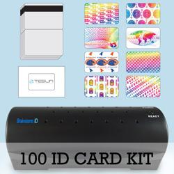 100 Card ID Kit