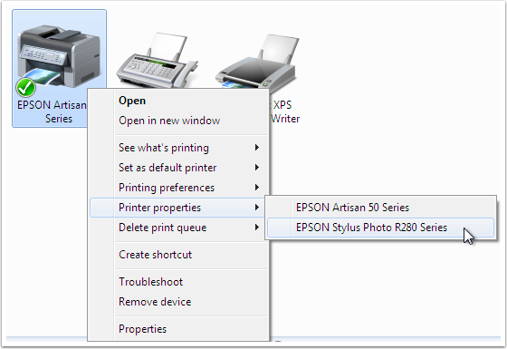 Epson Stylus Photo R280 Connect Printer Setup for Mac